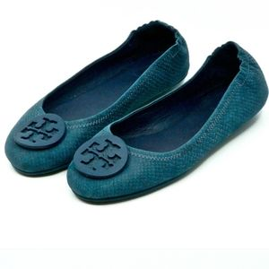 Tory Burch travel Minnie ballet flat